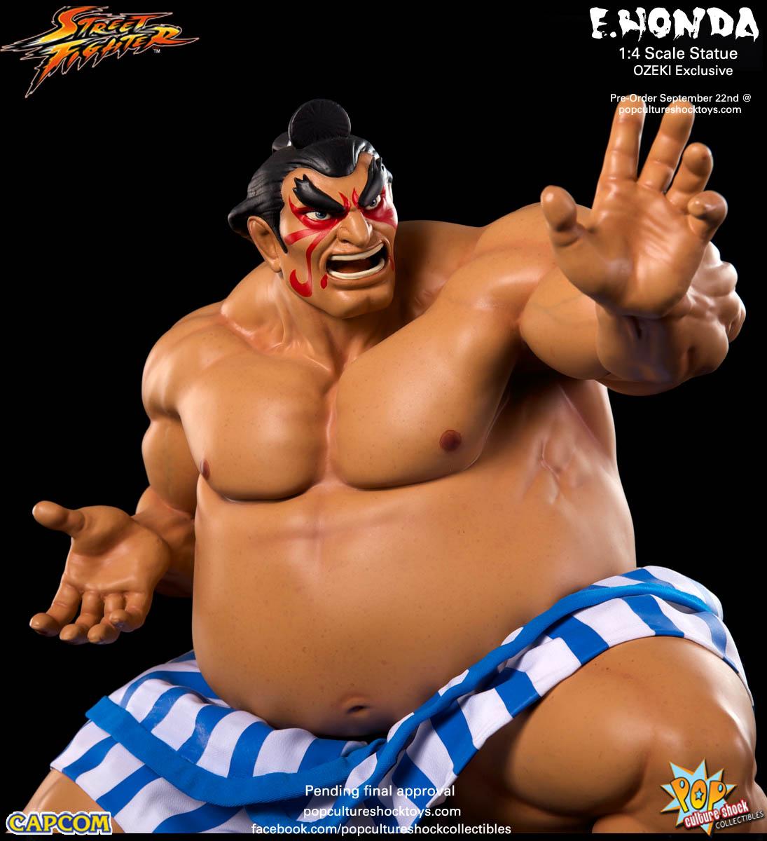[Pop Culture Shock] Street Fighter: E. Honda 1/4 Statue - Página 3 Street-Fighter-E.-Honda-ozeki-Statue-011