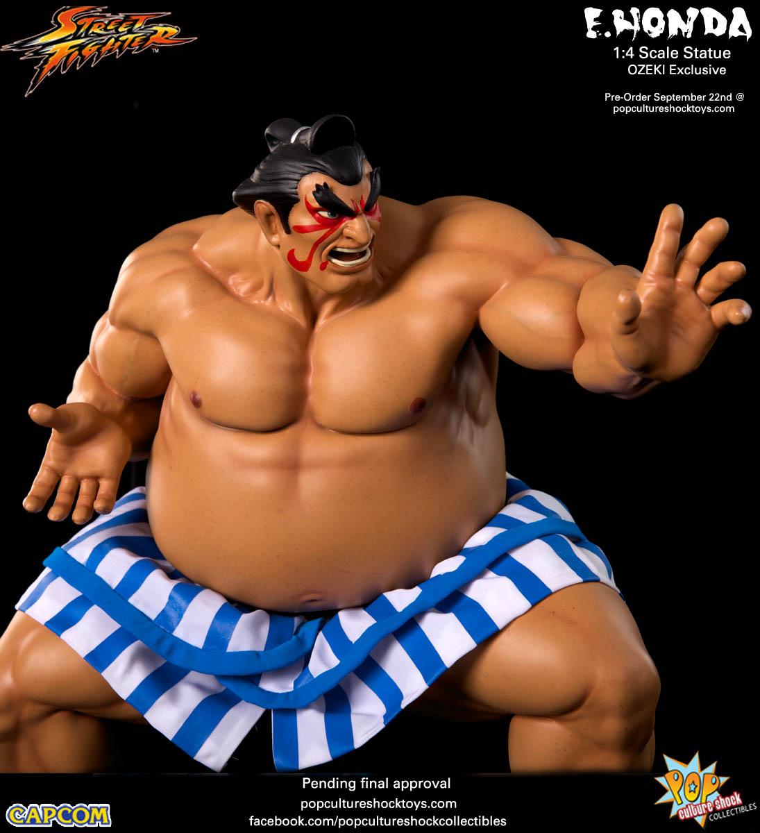 [Pop Culture Shock] Street Fighter: E. Honda 1/4 Statue - Página 3 Street-Fighter-E.-Honda-ozeki-Statue-013
