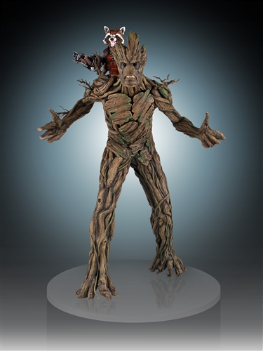 [Gentle Giant] Rocket and Groot Statue - 1/4 Scale Marvel-Rocket-and-Groot-Statue-003