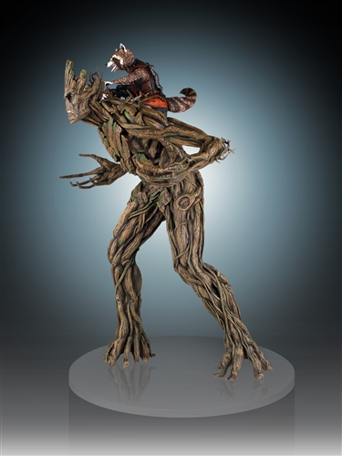 [Gentle Giant] Rocket and Groot Statue - 1/4 Scale Marvel-Rocket-and-Groot-Statue-004