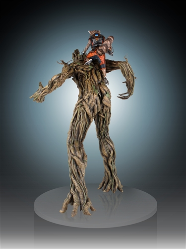 [Gentle Giant] Rocket and Groot Statue - 1/4 Scale Marvel-Rocket-and-Groot-Statue-005