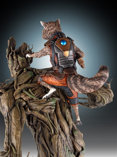 [Gentle Giant] Rocket and Groot Statue - 1/4 Scale Marvel-Rocket-and-Groot-Statue-009