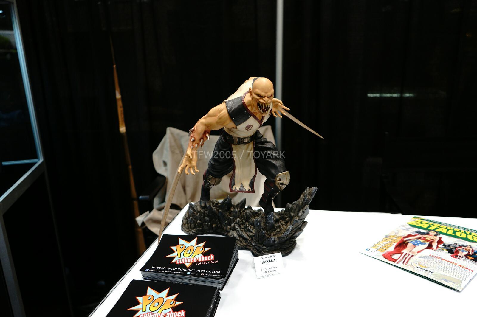 [Pop Culture Shock] Mortal Kombat 9 - Baraka 1/4 scale - Página 3 NYCC-2014-Pop-Culture-Shock-007