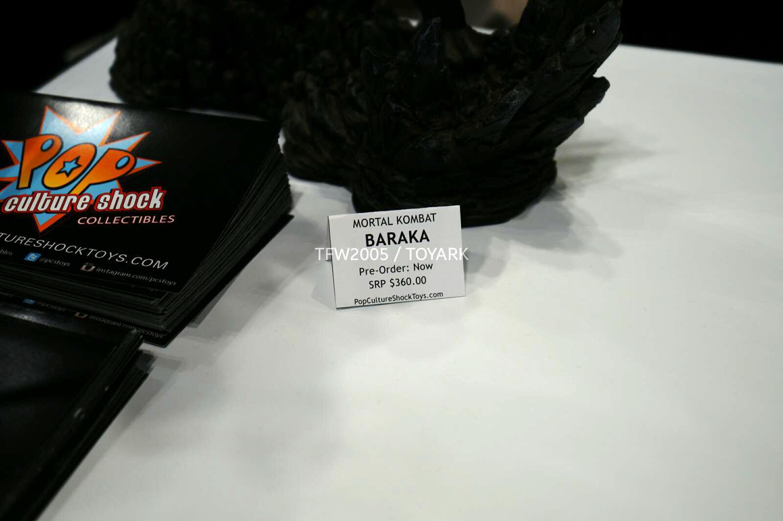 [Pop Culture Shock] Mortal Kombat 9 - Baraka 1/4 scale - Página 3 NYCC-2014-Pop-Culture-Shock-008