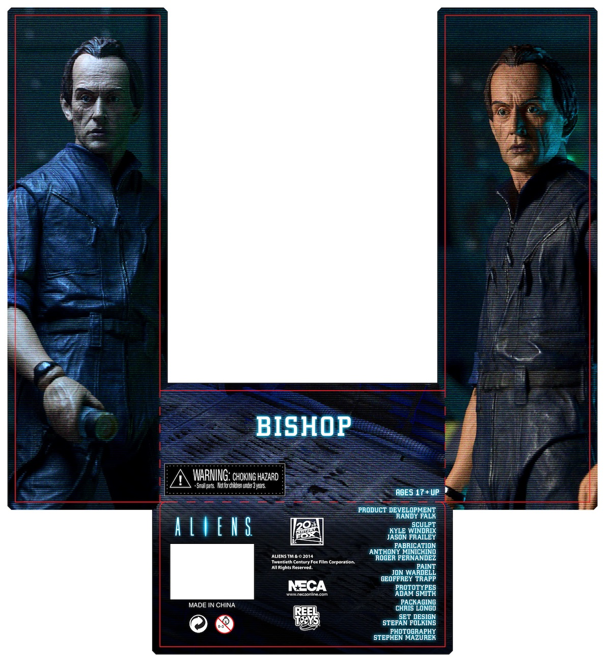 [NECA] Series 4 - Aliens: Ellen Ripley e Dallas Arthur Aliens-Series-3-Bishop-Figure-011