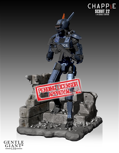 [Gentle Giant] Chappie: Scout 22 Statue - 1/4 scale Chappie-Scout-22-Statue