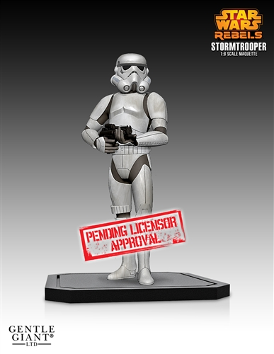 [Gentle Giant] Star Wars: Stormtrooper Rebels Maquette Stormtrooper-Rebels-Maquette
