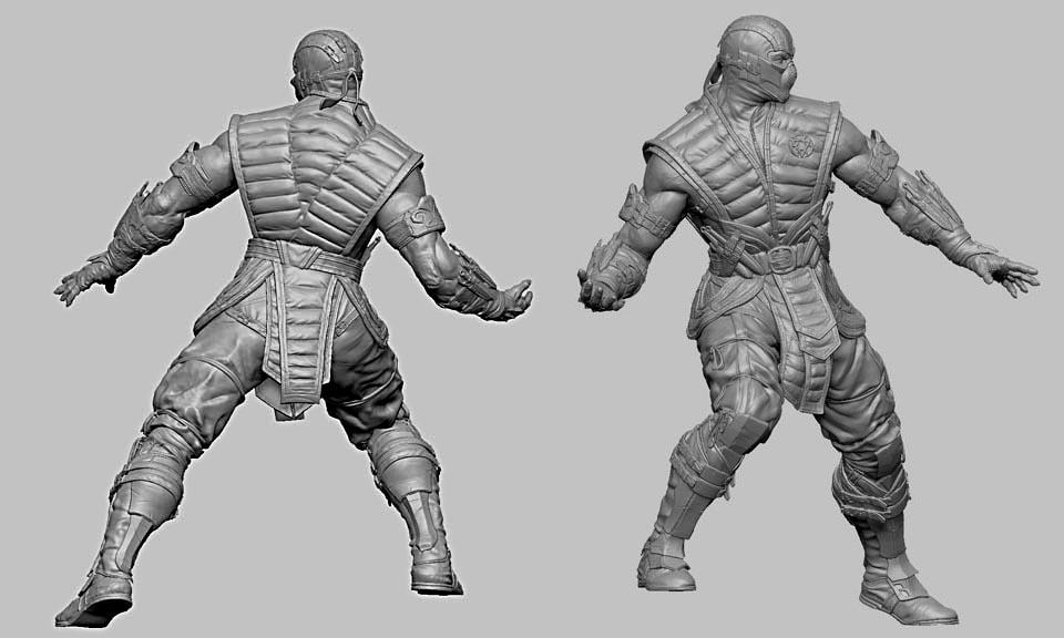 [Pop Culture Shock] Mortal Kombat X: Subzero 1/4 MKX-Sub-Zero-Statue-by-PCS
