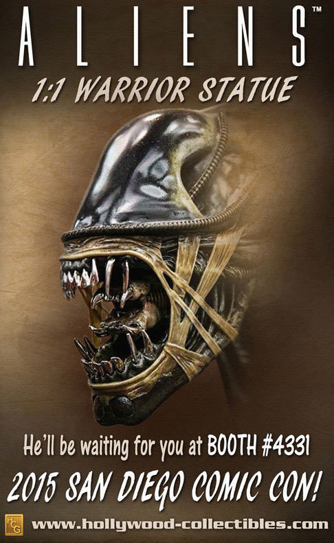 [Hollywood Collectibles] Alien Warrior - Life Sized Statue Aliens-Warrior-Statue-Preview