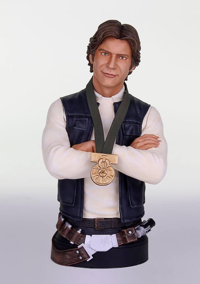 "[Gentle Giant] Star Wars: Han Solo ""Hero of  Yavin"" - Mini Bust GG-Han-Solo-Hero-of-Yavin-Mini-Bust-001"