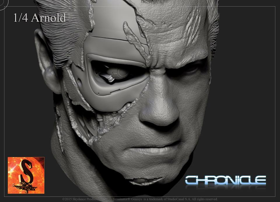 [Chronicle Collectibles] Terminator Genisys - Guardian T800 Terminator-Genisys-Guardian-T-800-by-Chronicle-005