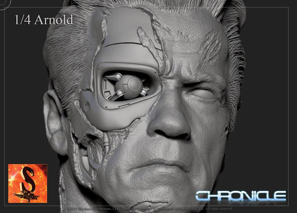 [Chronicle Collectibles] Terminator Genisys - Guardian T800 Terminator-Genisys-Guardian-T-800-by-Chronicle-007