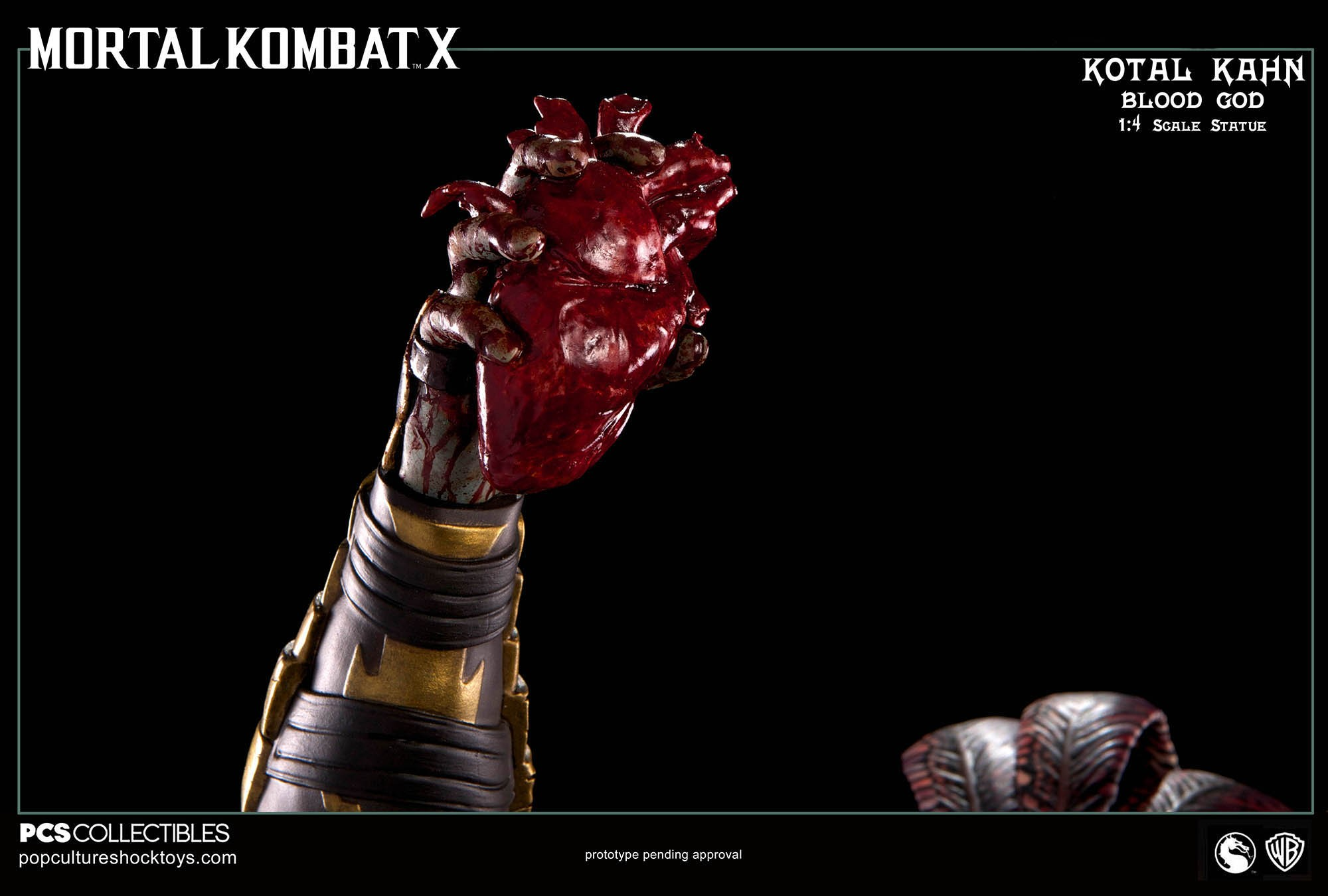 [Pop Culture Shock] Mortal Kombat X: Kotal Kahn 1:4 scale PCS-Kotal-Kahn-Blood-God-020