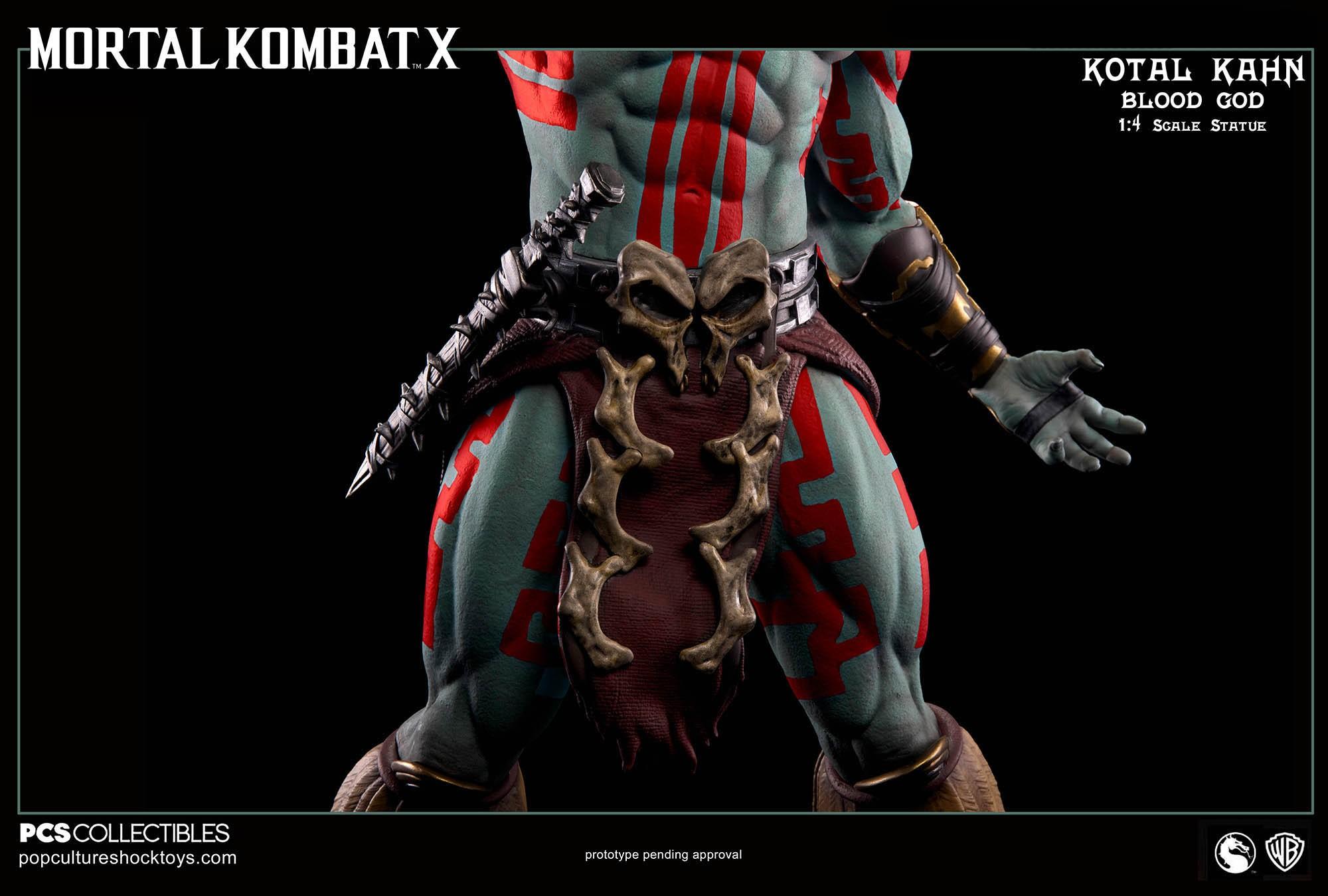 [Pop Culture Shock] Mortal Kombat X: Kotal Kahn 1:4 scale PCS-Kotal-Kahn-Blood-God-021