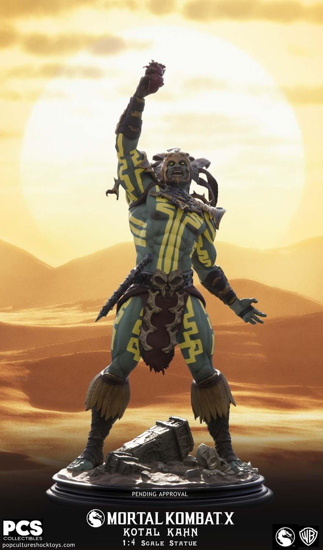 [Pop Culture Shock] Mortal Kombat X: Kotal Kahn 1:4 scale PCS-Kotal-Kahn-Sun-God-002
