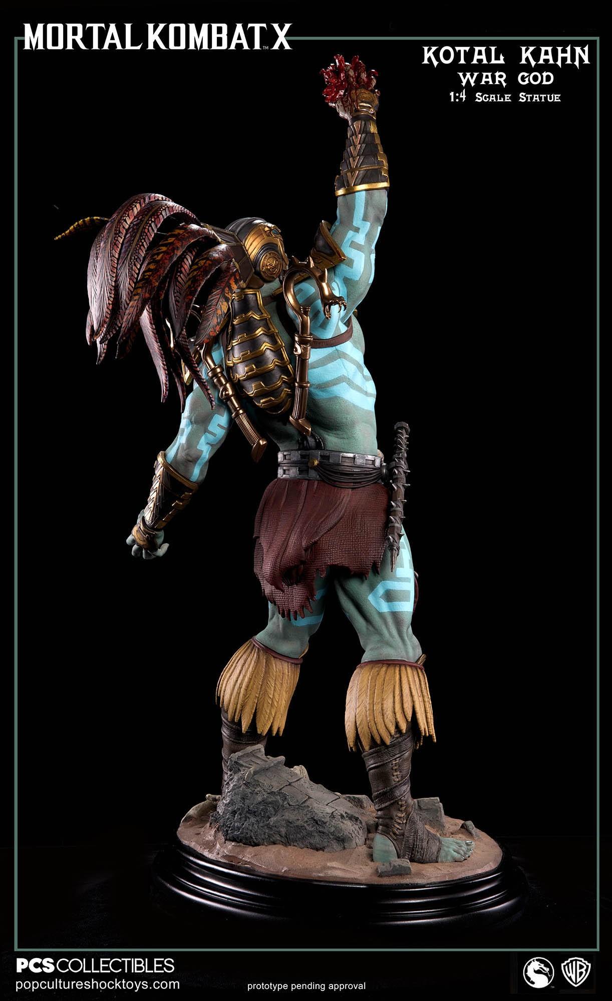 [Pop Culture Shock] Mortal Kombat X: Kotal Kahn 1:4 scale PCS-Kotal-Kahn-War-God-009