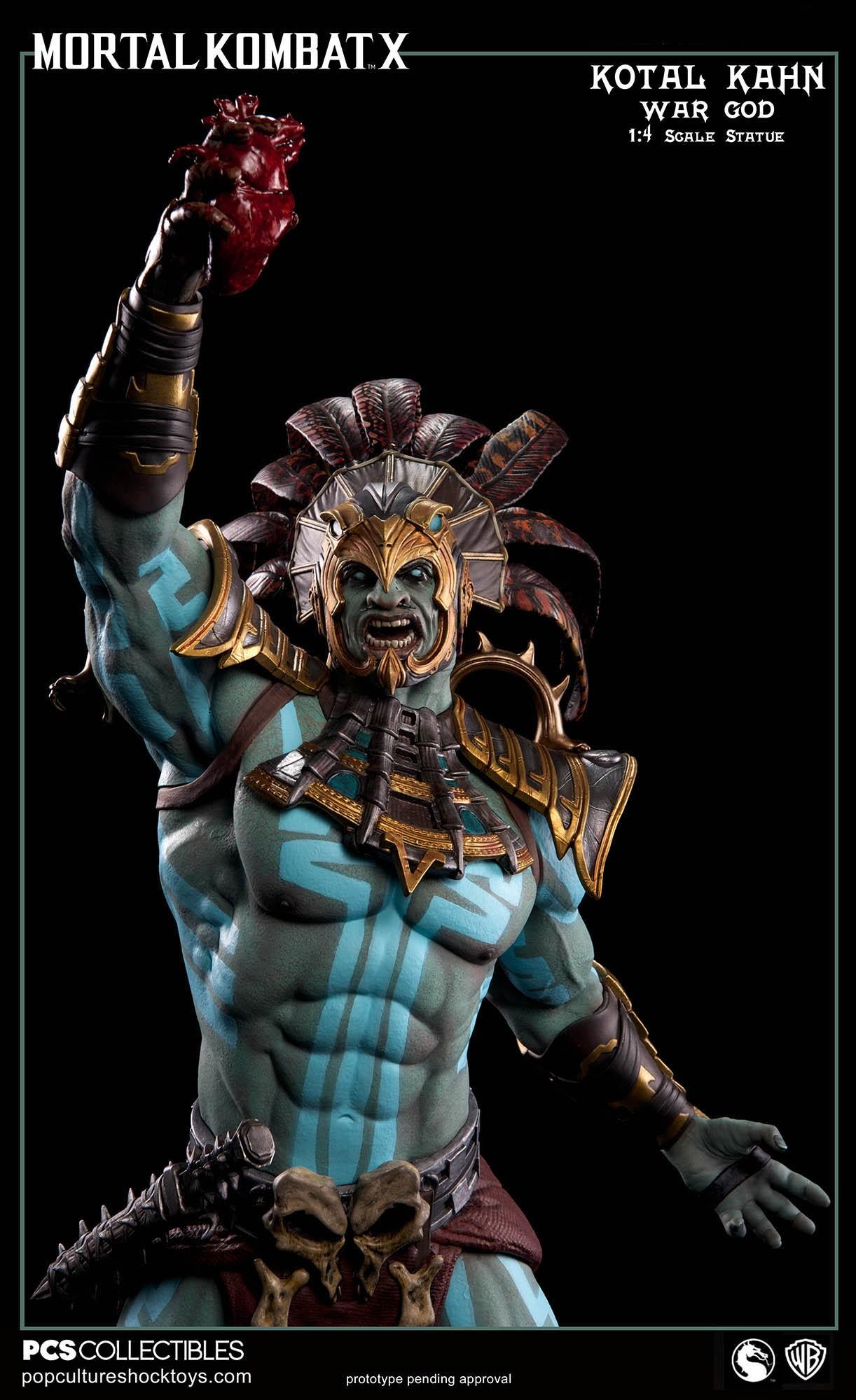 [Pop Culture Shock] Mortal Kombat X: Kotal Kahn 1:4 scale PCS-Kotal-Kahn-War-God-010