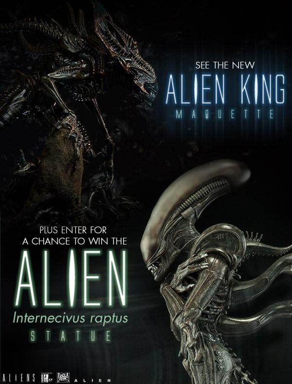 Aliens - 30 ans - Neca (et autres) Sideshow-King-Alien-Preview-Email
