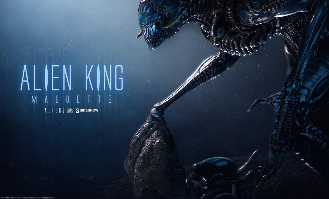 Aliens - 30 ans - Neca (et autres) Sideshow-King-Alien-Preview