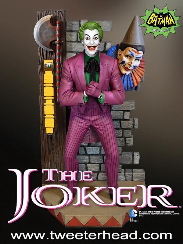 Star Wars : 1/6th Hot Toys - Batgirl 66 Tweeterhead - Page 2 Tweeterhead-Classic-Joker-Maquette-001