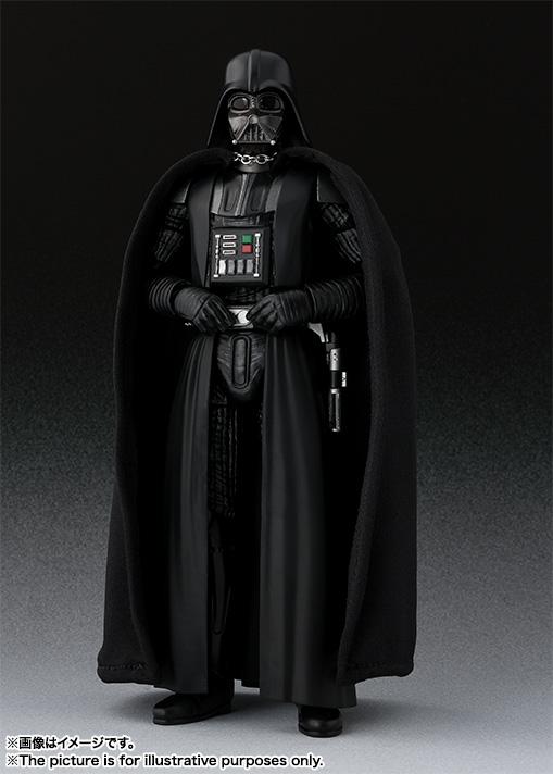 STAR WARS S.H.Figuarts - DARTH VADER V2 - A New Hope SH-Figuarts-New-Hope-Darth-Vader-001