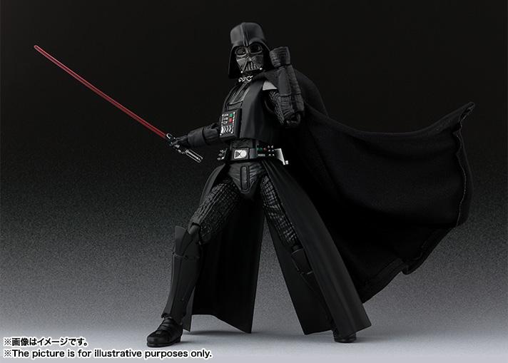 STAR WARS S.H.Figuarts - DARTH VADER V2 - A New Hope SH-Figuarts-New-Hope-Darth-Vader-004