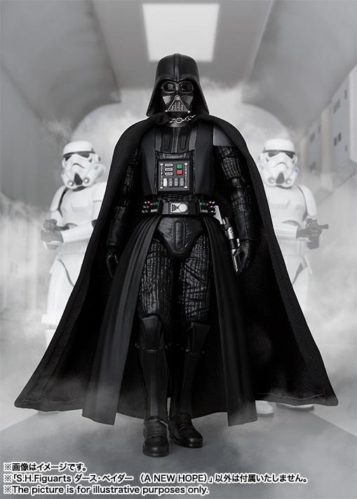 STAR WARS S.H.Figuarts - DARTH VADER V2 - A New Hope SH-Figuarts-New-Hope-Darth-Vader-005