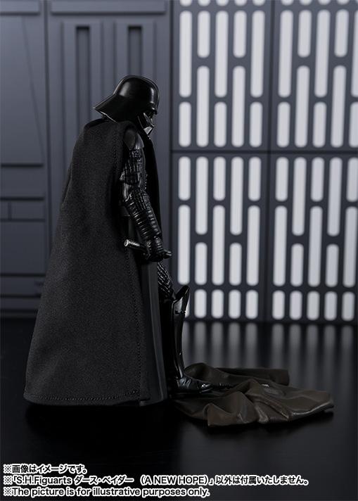 STAR WARS S.H.Figuarts - DARTH VADER V2 - A New Hope SH-Figuarts-New-Hope-Darth-Vader-009
