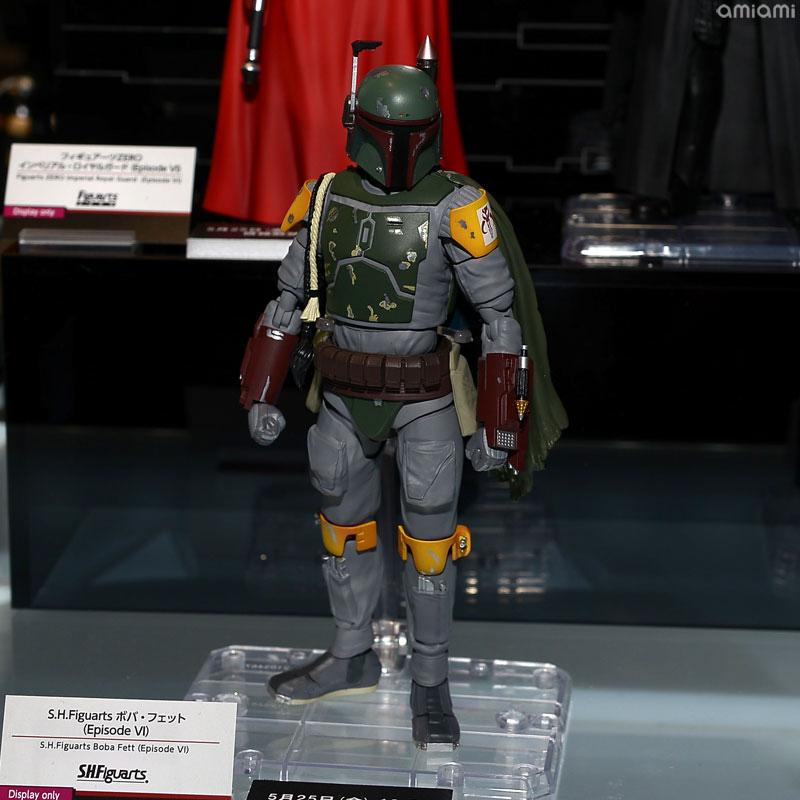 STAR WARS S.H.Figuarts - Boba Fett - Return Of The Jedi  Tamashii-Comic-Con-18-Star-Wars-028