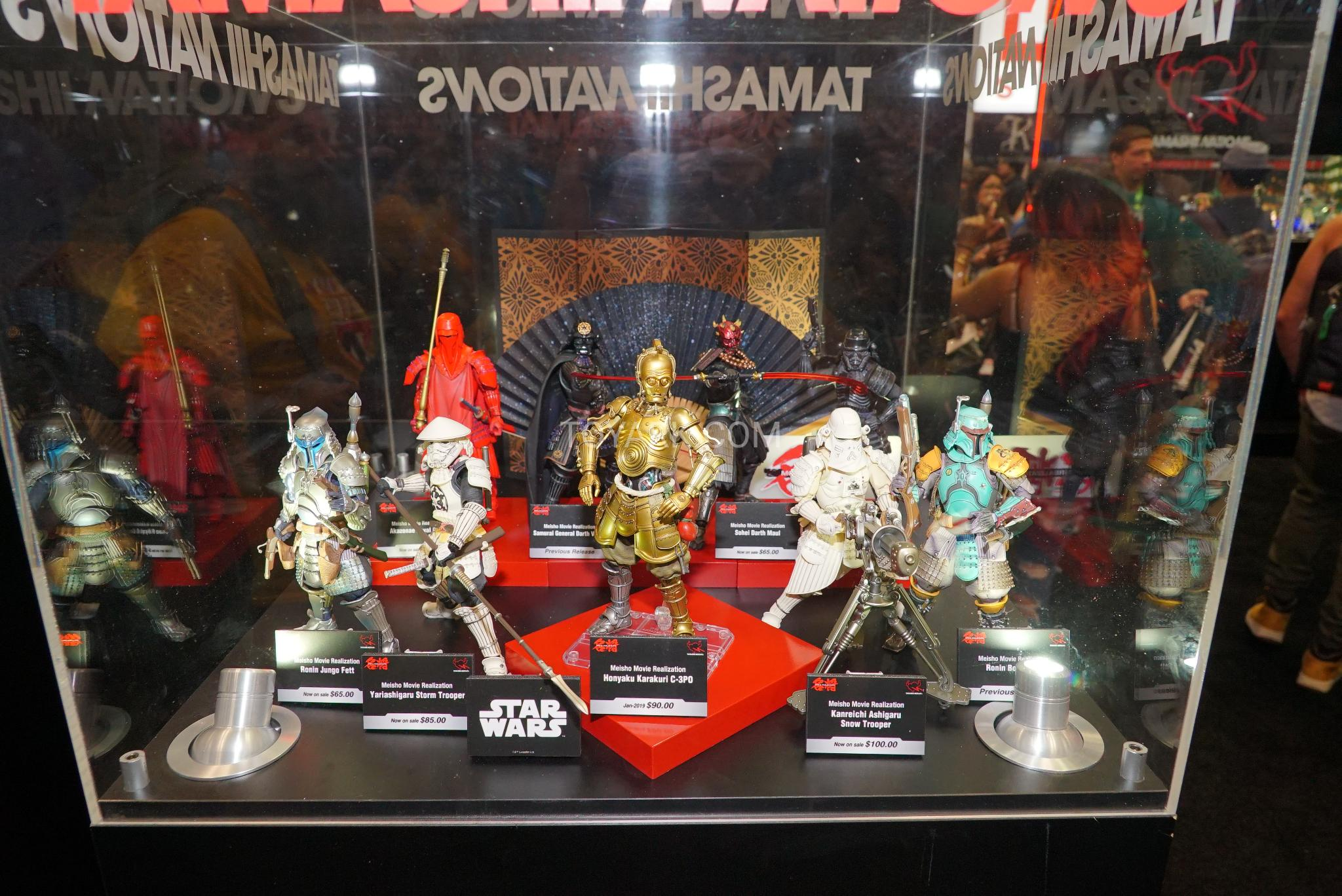 NEW YORK COMIC CON 2018 NYCC-2018-Tamashii-Nations-Star-Wars-001