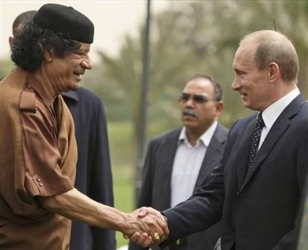 Попкорн (общество, политика) - Том XXXIV - Страница 2 Putin_i_Kaddafi