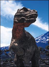 الديناصورات _39943920_trex2_bbc_203