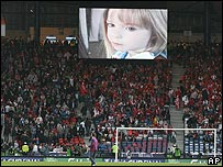 Madeleine Film aired at Cup Final, and that Fighting Fund bucket! _42942539_madeleine_glasgow_abodyp