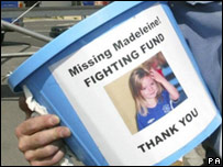 Madeleine Film aired at Cup Final, and that Fighting Fund bucket! _42944719_madeleine_pa203b