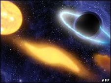 Symbolik rund um Saturn _44653653_blackhole_afp226b