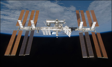 UFO News ~ Lots of Action at ISS plus MORE _45811555_iss_nasa_466