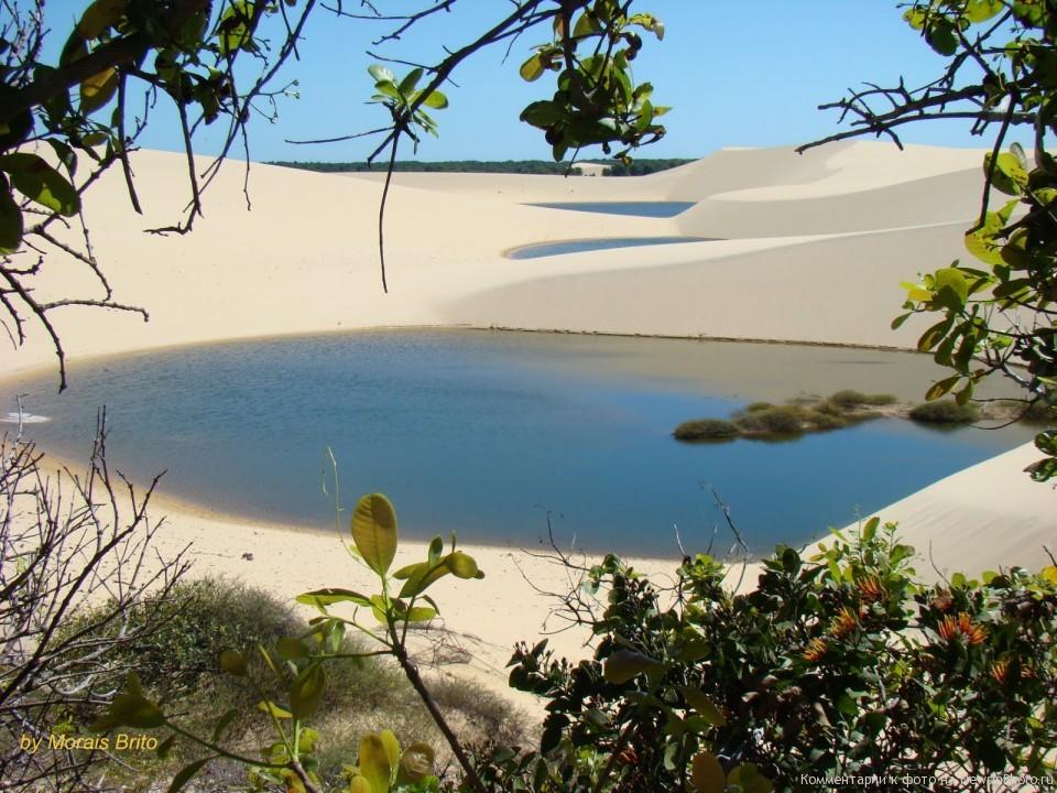 Удивительный парк Lençóis Maranhenses в Бразилии Dee-960x720