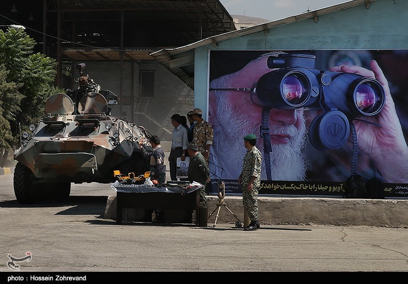 Iran muestra nuevas versiones de sus Blindados ,Vehiculos y Sistemas 139306041401125033489834