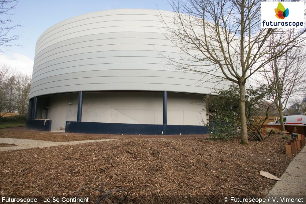 8e Continent, le Jeu (Pavillon 360°) – 2011-2017 - Page 6 Futuroscope_HuitiemeContinent_chantier22