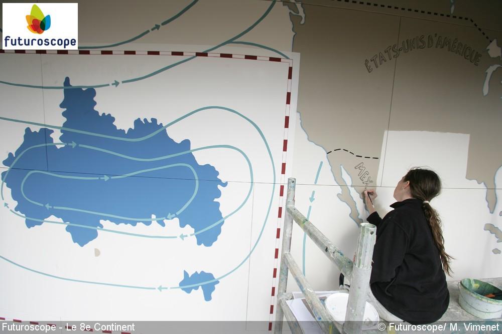 8e Continent, le Jeu (Pavillon 360°) – 2011-2017 - Page 6 Futuroscope_HuitiemeContinent_chantier29