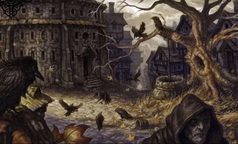 Os primeiros passos fora dos muros Ravengroart