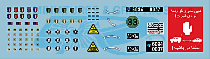 VBCI, GTIA Surobi (Battle Group Bison) 2010 1/35 Vbci_decals_01