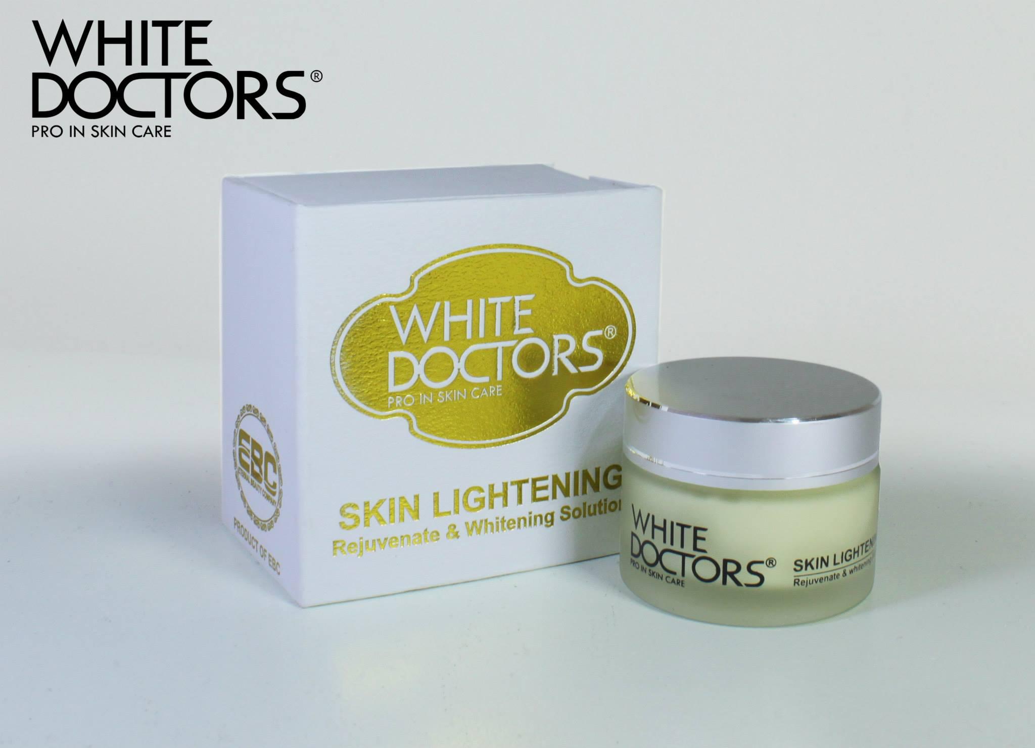 Kem làm trắng da cực kỳ hiệu quả - Nhà thuốc việt số 1 Kem-lam-trang-da-mat-white-doctors-skin-lightening
