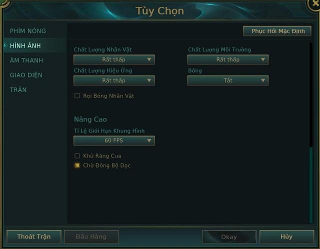 Chia sẻ cách giảm Ping LOL cho các game thủ dễ dàng, nhanh chóng nhất Cach-giam-ping-lol-bang-cai-dat-thong-so-1