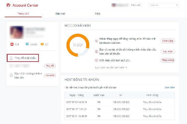 cách đổi mật khẩu Liên Minh Huyền Thoại với thủ thuật đơn giản Thay-doi-mat-khau-lmht