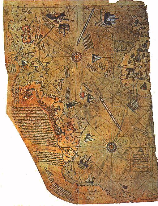 istorija - Mapa Pirija Rajsa Piri_reis_