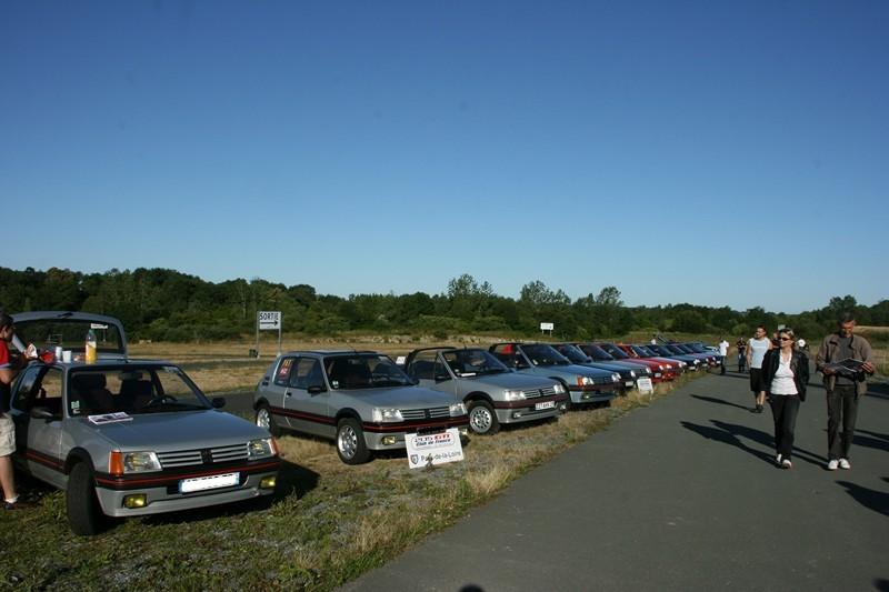 [85] Les 20 ans de la 205 GTI GRIFFE - 25 et 26 juin 2011 01