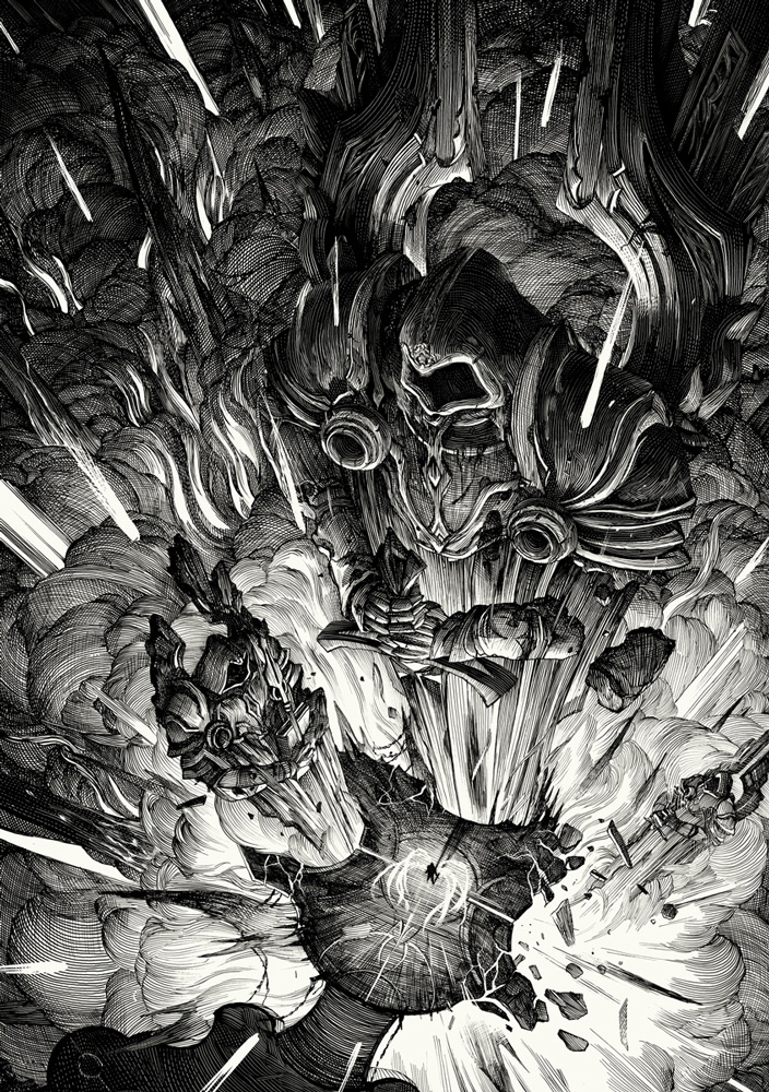 [Reflexion] Les oeuvres qui vous inspirent - Page 3 Nicolas-Delort-BookofTyrael1