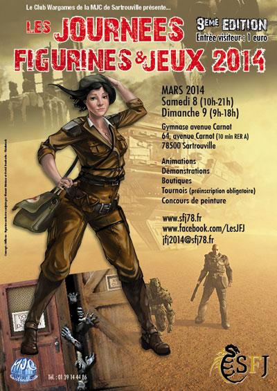 Sartrouville 78 - JFJ 8 et 9 mars 2014 Affiche-web-2014