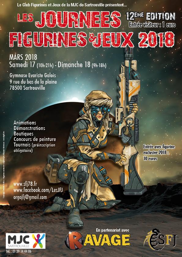 [Région Parisienne] JFJ 2018 la 12ème !! Sartrouville !! 78 !! Affiche-a4-2018